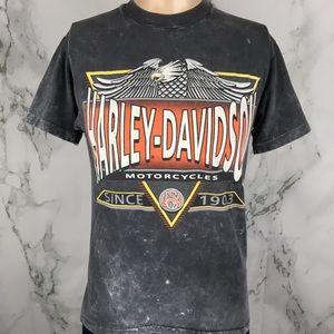 90s Harley-Davidson Acid Washed T-shirt